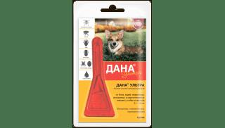 Дана Ультра для собак и щенков 5-10 кг