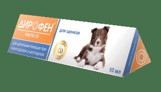 Дирофен Паста для щенков 10 мл
