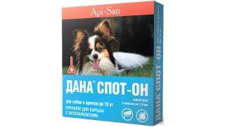 Дана Спот-Он для собак и щенков до 10 кг