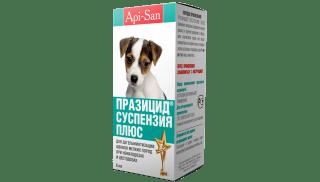Празицид-суспензия Плюс для щенков мелких пород