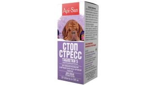Стоп-стресс таблетки для собак крупных пород